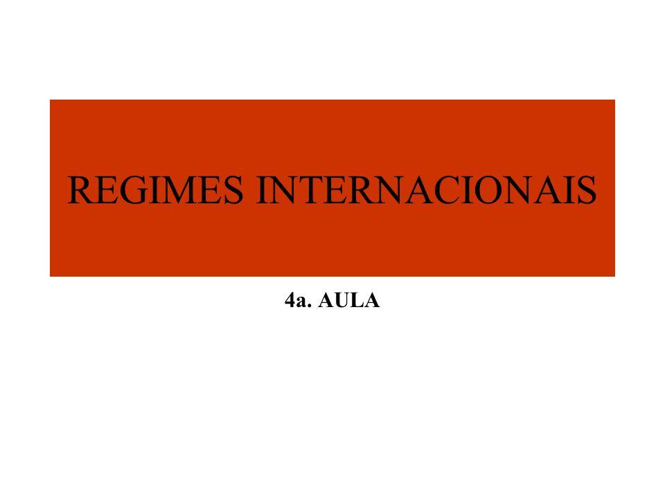 O CONTEXTO INTERNACIONAL Détente Guerra Fria Ascensão dos problemas econômicos INTELECTUAL importância dos fatores internos na política externa Deslocamento do foco sobre conflitos militares e questões estratégicas; Interdependência complexa