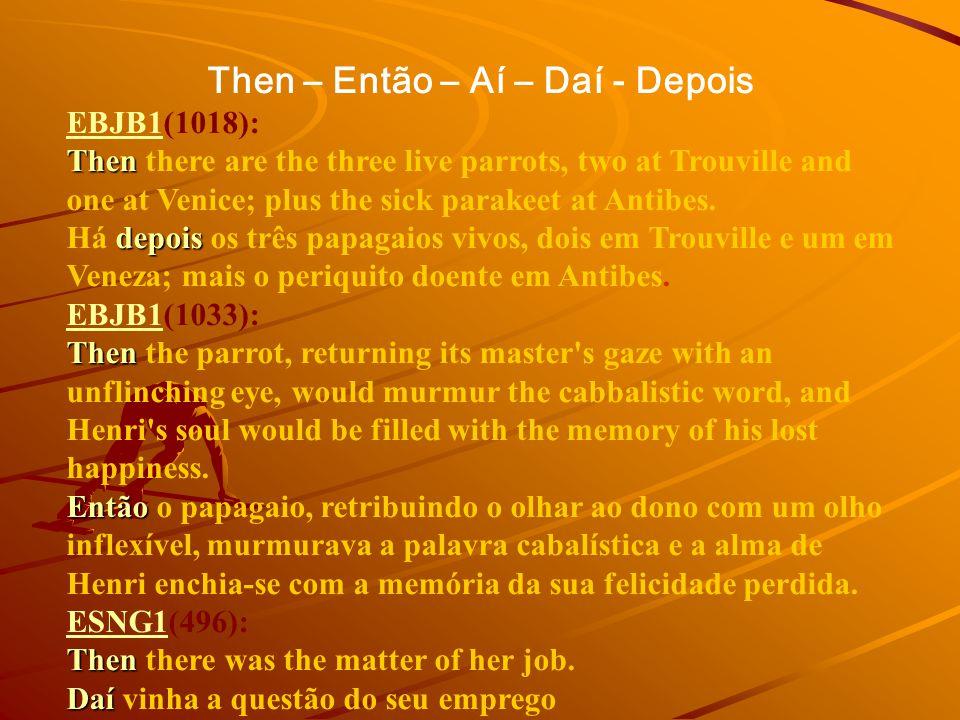 COMPARA Extratos de Ficção Português Inglês Inglês Português Textos alinhados Originais Traduções Português2617 Inglês1527 Total4144 Palavras Originai
