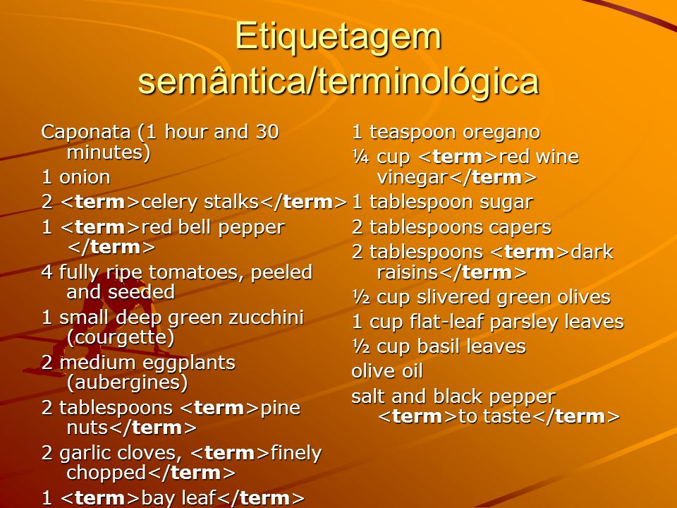Etiquetagem semântica For the soup, preheat the oven to 160ºC (350ºF / moderate / Gas 4). Cut tomatoes lengthwise, discard seeds, place in a medium he