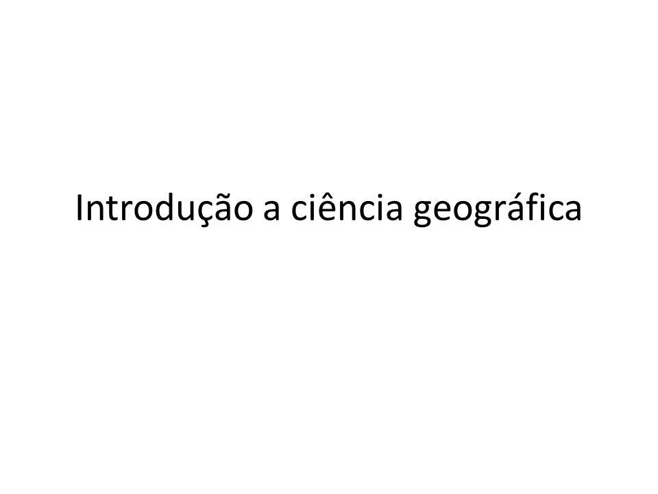 Geografia, o que é isso?