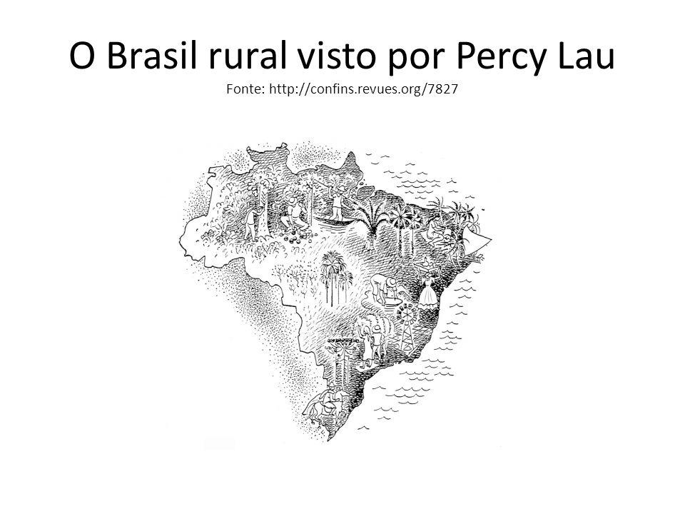 O Brasil rural visto por Percy Lau Fonte: http://confins.revues.org/7827