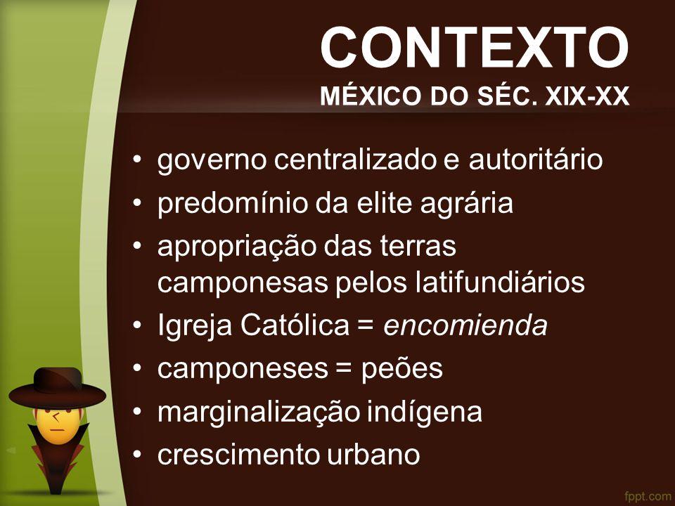 CONTEXTO MÉXICO DO SÉC.