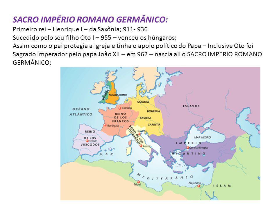 – Depois da morte de Carlos Magno assume Luis o piedoso depois da morte de Luis, o piedoso, filho de Carlos Magno ocorre: Tratado de Verdum (843): Div