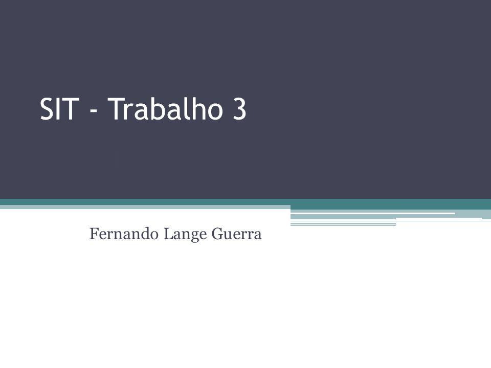 SIT - Trabalho 3 CRM Fernando Lange Guerra