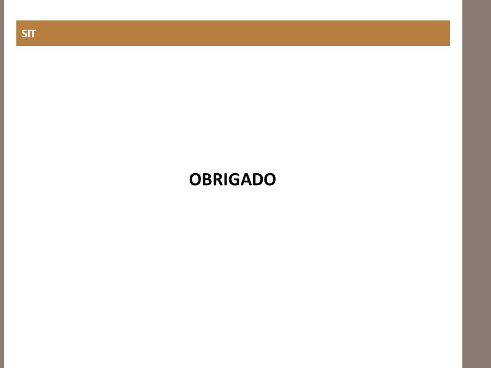 SIT OBRIGADO