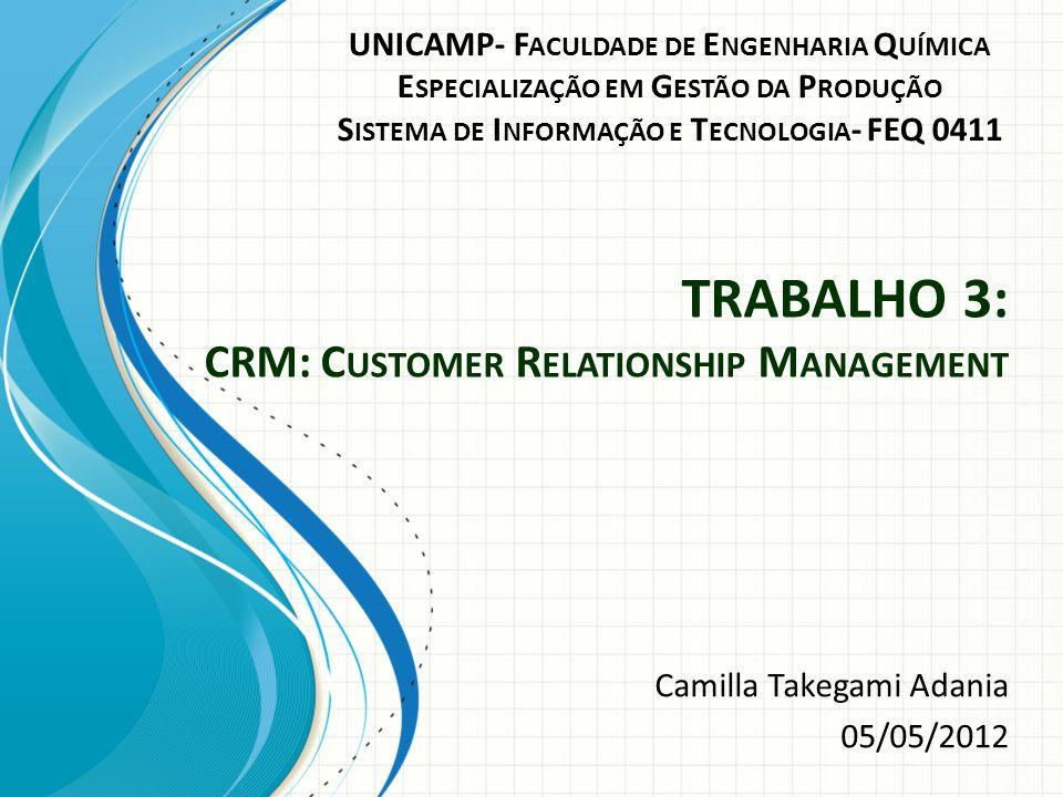CRM O que é: Um sistema integrado de gestão com foco no cliente, constituído por um conjunto de procedimentos/processos organizados e integrados num modelo de gestão de negócios.