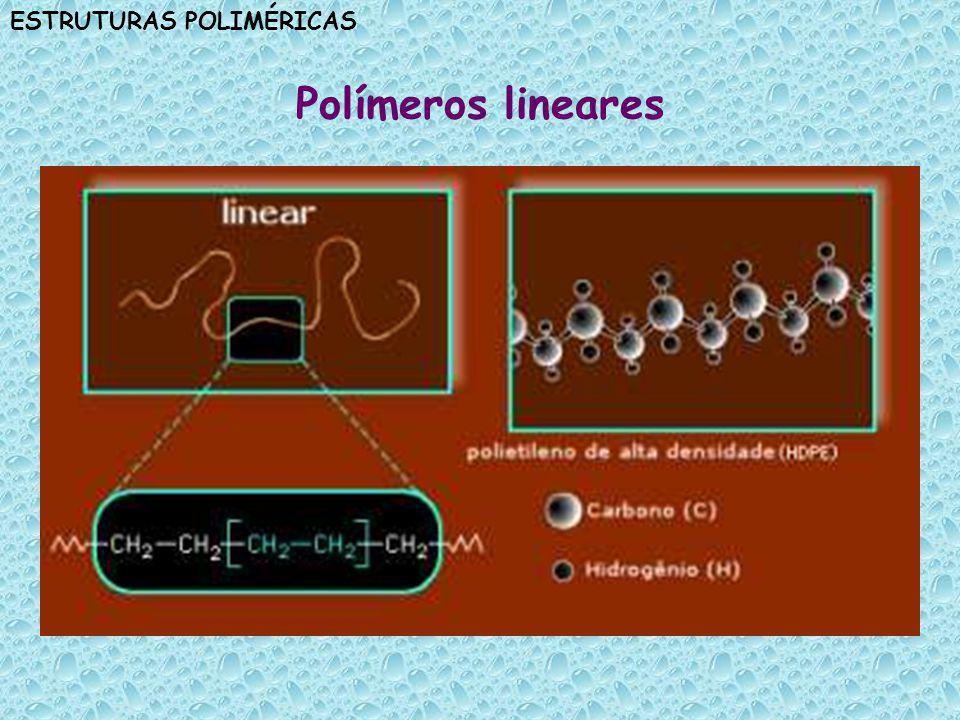 ESTRUTURAS POLIMÉRICAS Polímeros ramificados