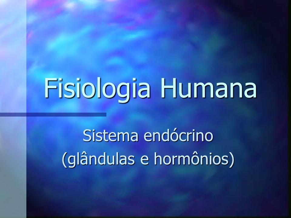Fisiologia Humana Sistema endócrino (glândulas e hormônios)