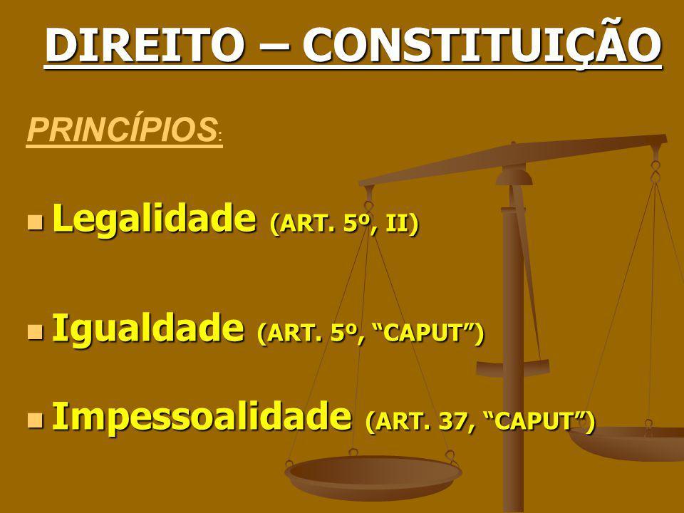 CONSTITUIÇÃO E DIREITO RELACIONAL BRASILEIRO
