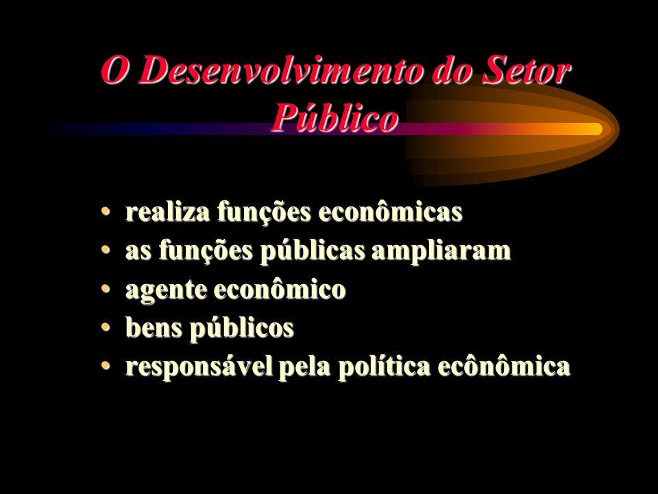 O Desenvolvimento do Setor Público realiza funções econômicasrealiza funções econômicas as funções públicas ampliaramas funções públicas ampliaram age