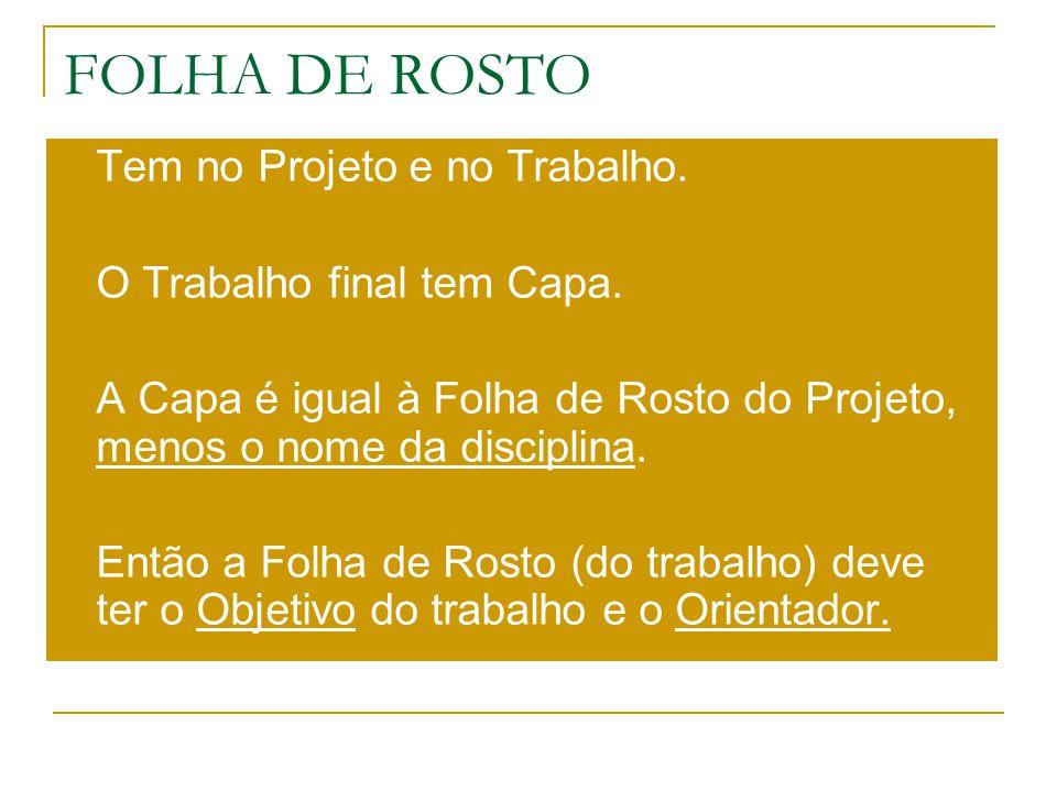 MODELO DE FOLHA DE ROSTO (Projeto) FACULDADES METROPOLITANAS UNIDAS CENTRO DE PESQUISA E PÓS-GRADUAÇÃO DIREITO ALCOOLISMO E OBRIGATORIEDADE DE EXAME PERICIAL NEPOMUCENO GAMELÃO Metodologia da Pesquisa São Paulo 2006