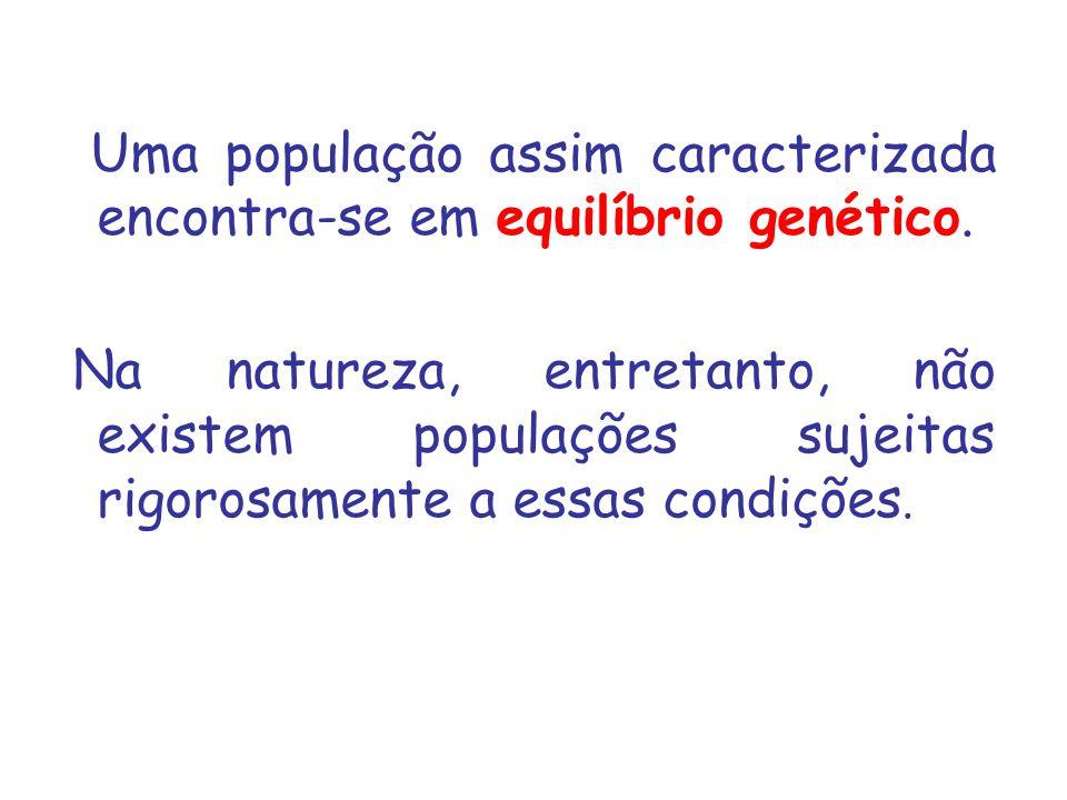 Seleção I – 50 AA + 25 Aa + 25 aa Indivíduos aa: taxa reprodutiva 20% inferior aos indivíduos AA e aa.