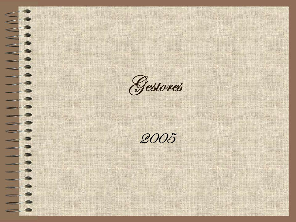 Gestores 2005