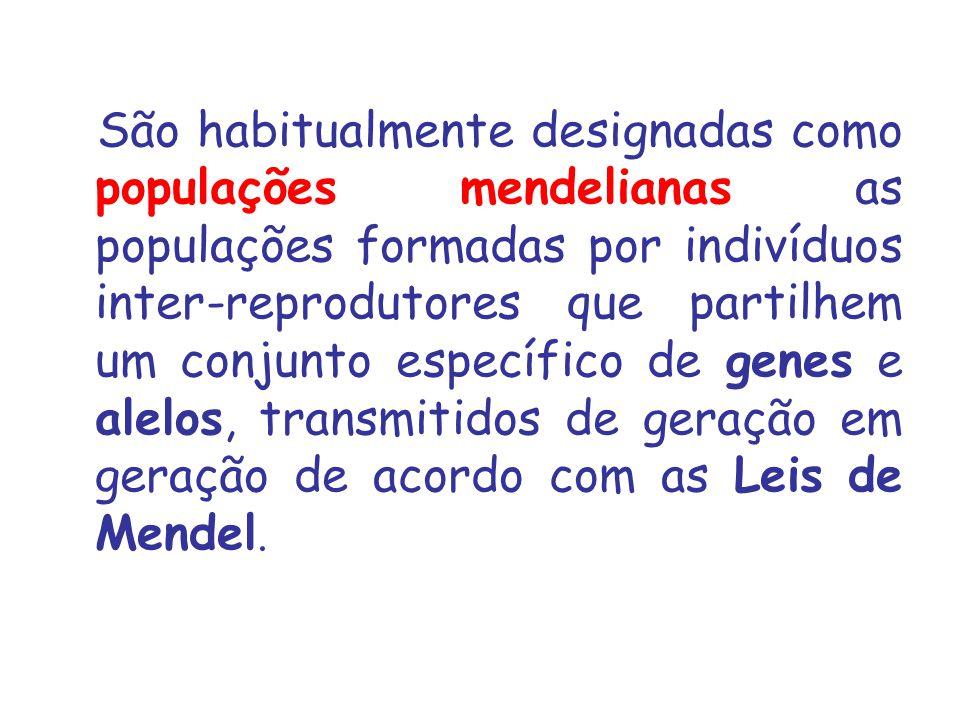 FREQÜÊNCIA DO ALELO ( NÚMERO TOTAL DESSE ALELO) / (NÚMERO TOTAL DE GENES NO LOCUS)