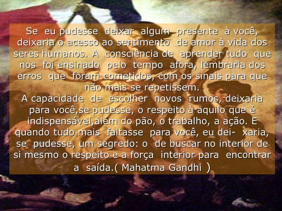 17/11/2000Carinho - Adilson * * * Vigie seus pensamentos, porque eles se tornarão suas palavras; Vigie suas palavras porque elas se tornarão seus atos