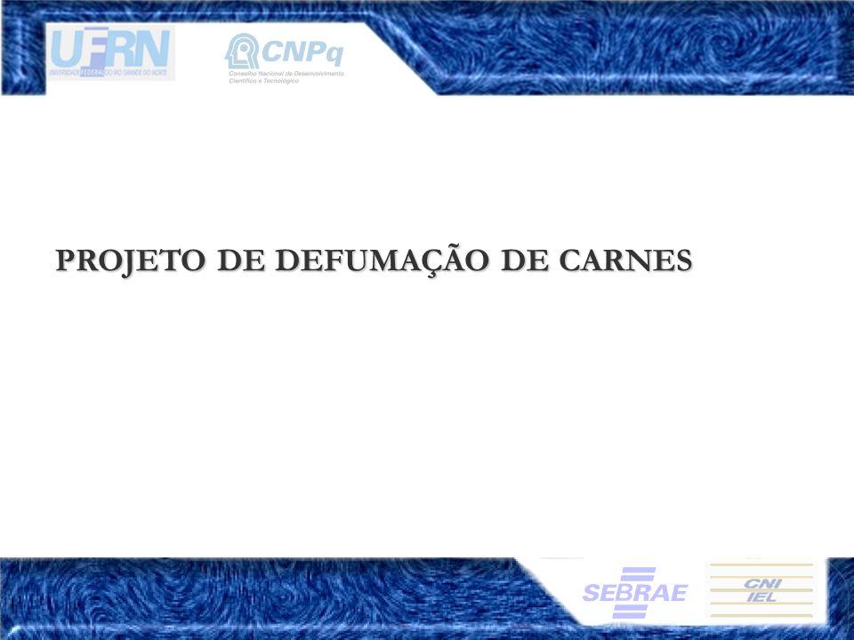 PROJETO DE DEFUMAÇÃO DE CARNES