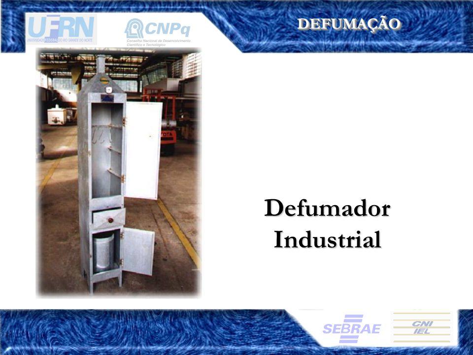 DEFUMAÇÃODEFUMAÇÃO Defumador Industrial