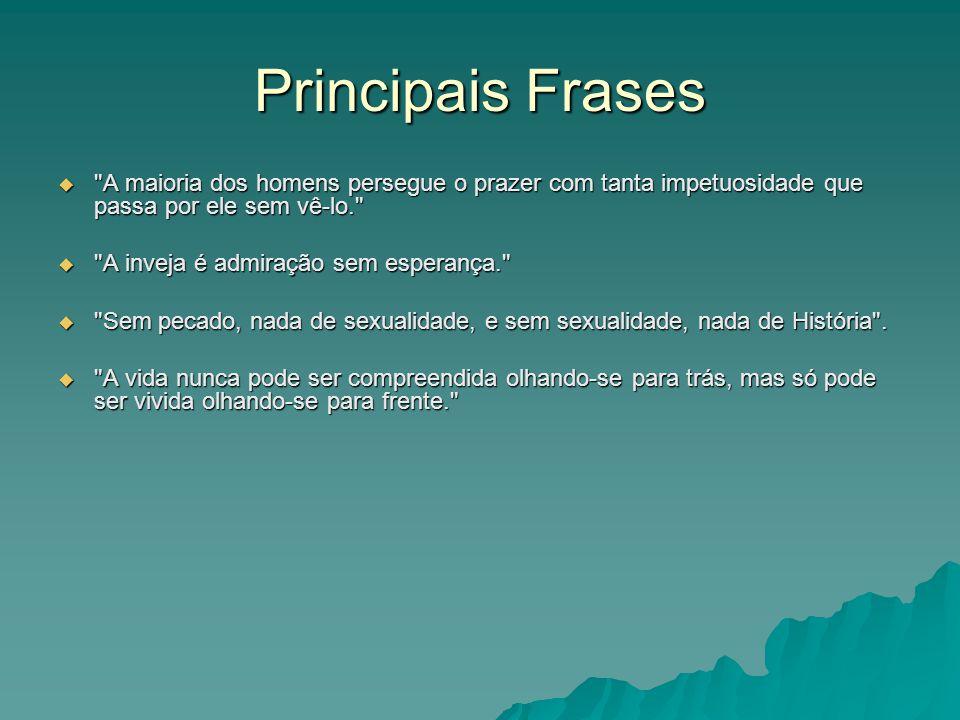 Principais Frases