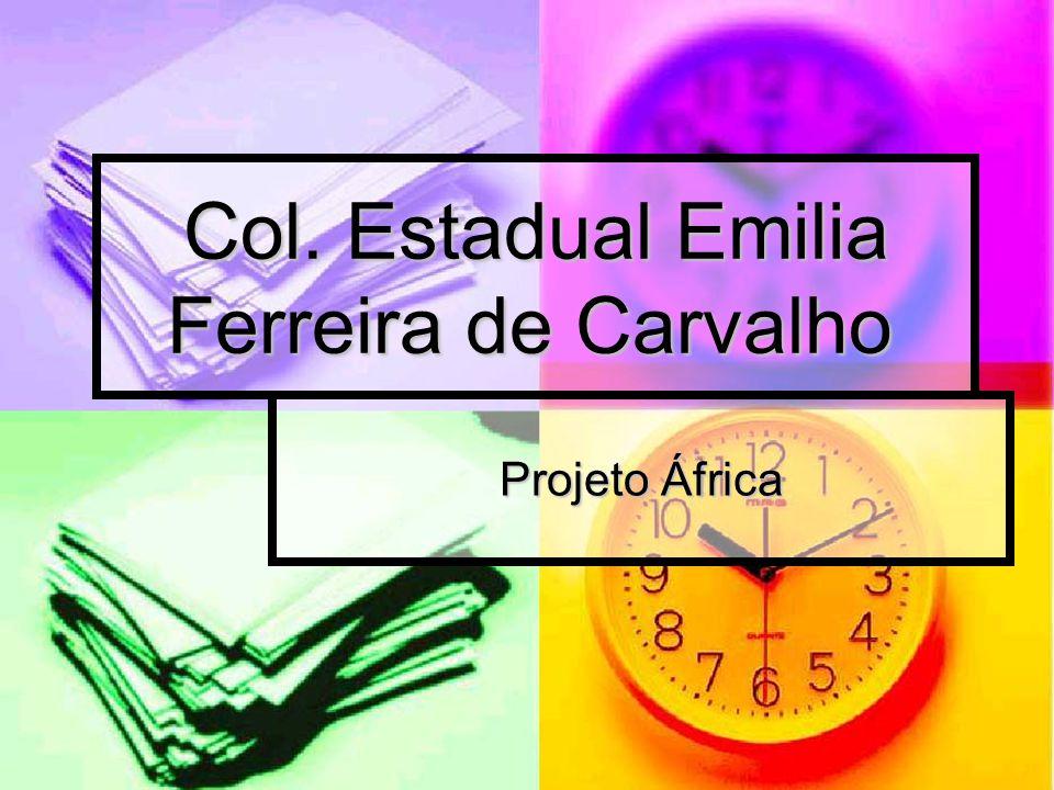 Col. Estadual Emilia Ferreira de Carvalho Projeto África