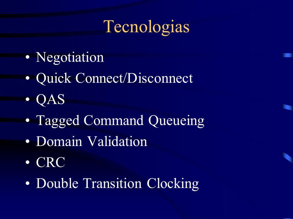Terminologias e Dispositivos LUNs SCSI ID Stub SCSI Expander Terminador