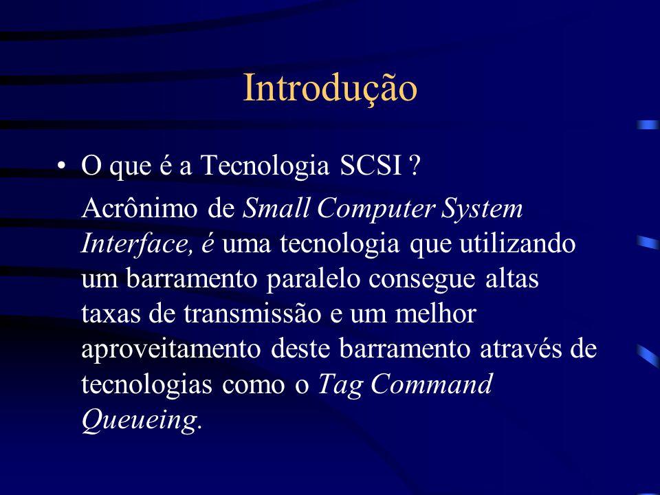 Introdução O que é a Tecnologia SCSI .