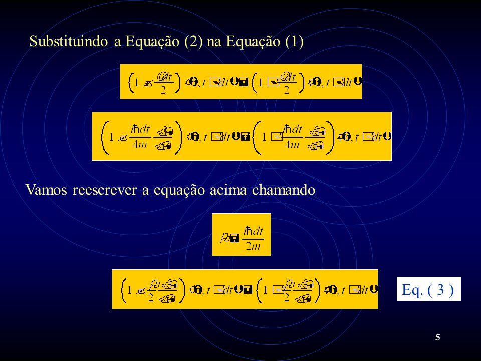 6 Substituindo a Equação (4) na Equação (3) ficamos com O lado direito da Equação (3) é conhecido, e desejamos calcular (z,t +dt) através do algorítimo de Thomas usando o esquema de diferenças finitas não-uniforme (EDFNU).