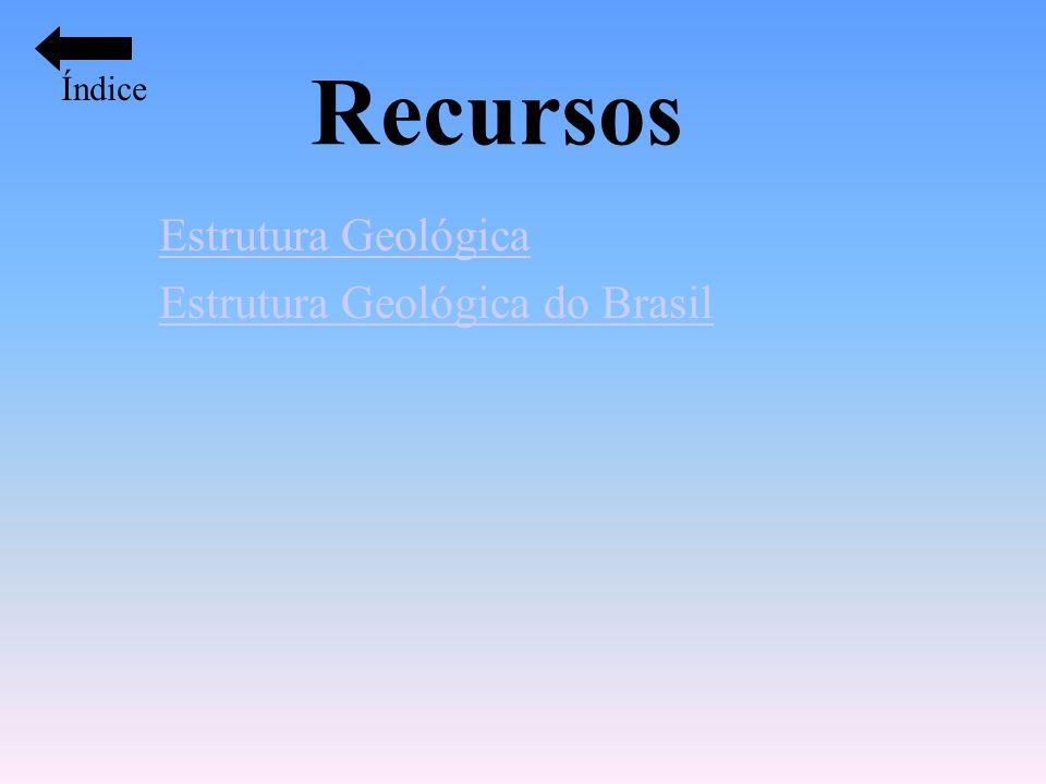 Recursos Estrutura Geológica Estrutura Geológica do Brasil Índice
