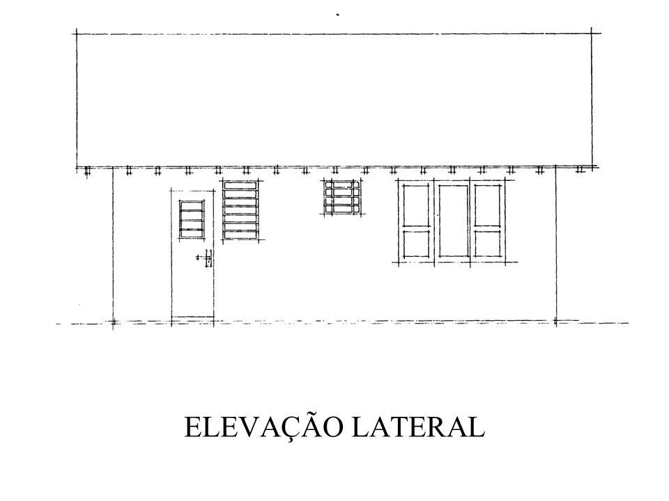 ELEVAÇÃO LATERAL