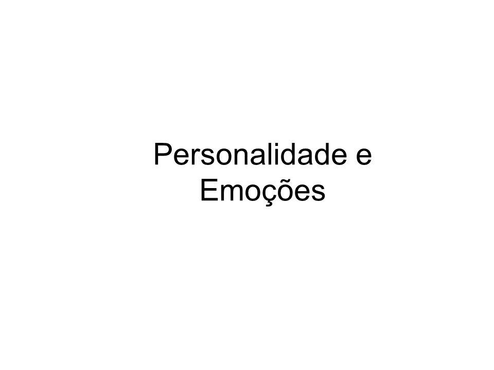 Personalidade e Emoções