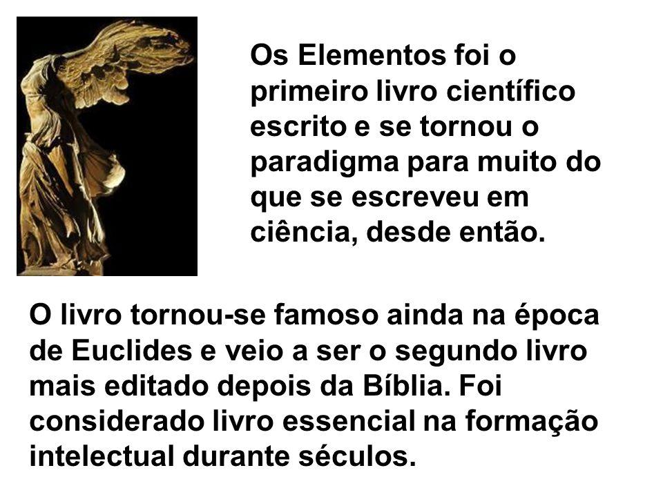 O livro tornou-se famoso ainda na época de Euclides e veio a ser o segundo livro mais editado depois da Bíblia. Foi considerado livro essencial na for