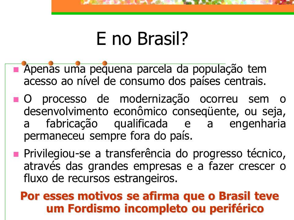 E no Brasil.