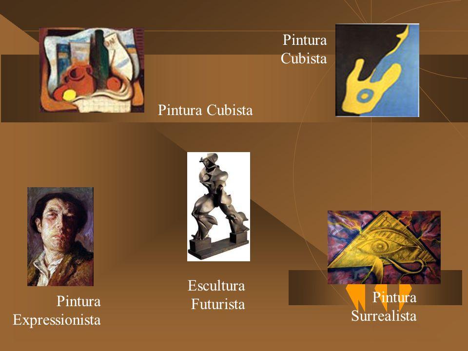 Pintura Cubista Pintura Expressionista Escultura Futurista Pintura Surrealista