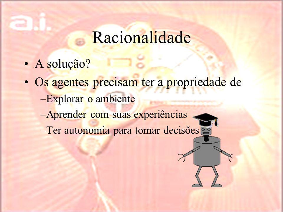 Racionalidade A solução.