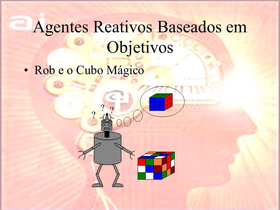 Agentes Reativos Baseados em Objetivos Rob e o Cubo Mágico ? ? ?