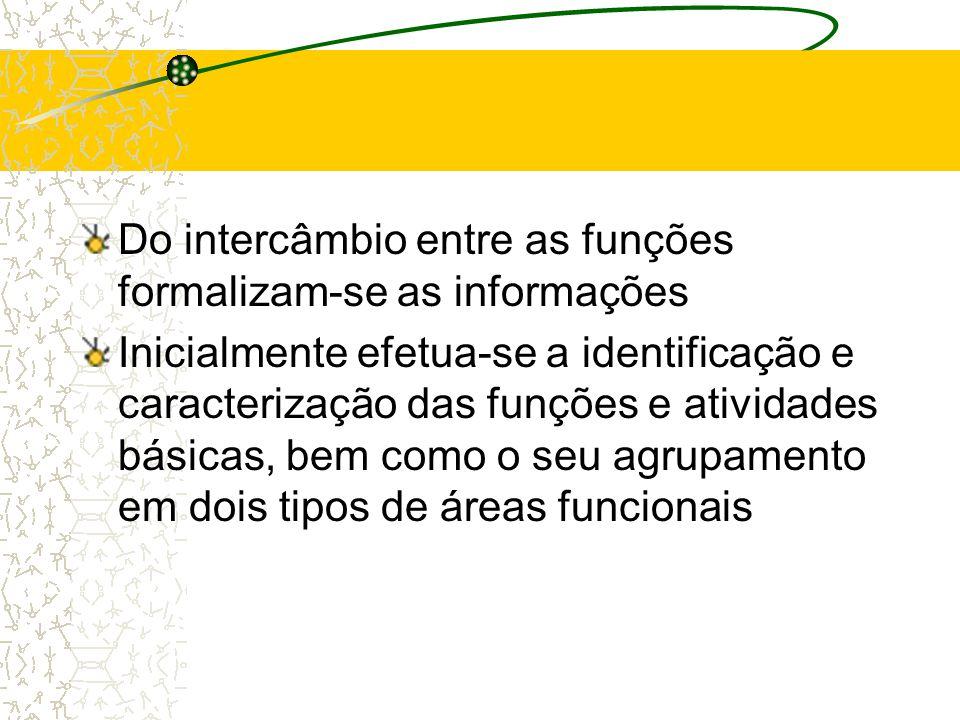 As áreas funcionais se subdividem em funções Que são atividades relacionadas, necessárias ao funcionamento de uma empresa Através da execução das funç