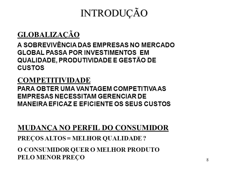 39 O CUSTO VARIÁVEL, AO CONTRÁRIO DO CUSTO FIXO, ALTERA-SE EM FUNÇÃO DO VOLUME DE PRODUÇÃO DA EMPRESA.