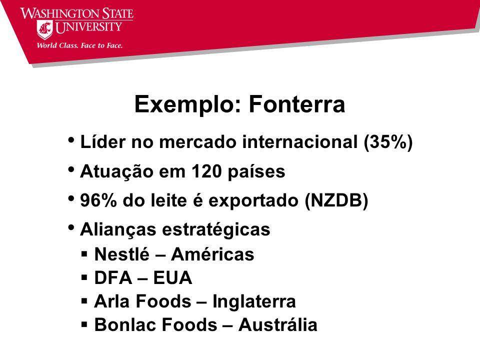 Internacionalização Exportação Importação Investimento Direto Estrangeiro Aliança Estratégica