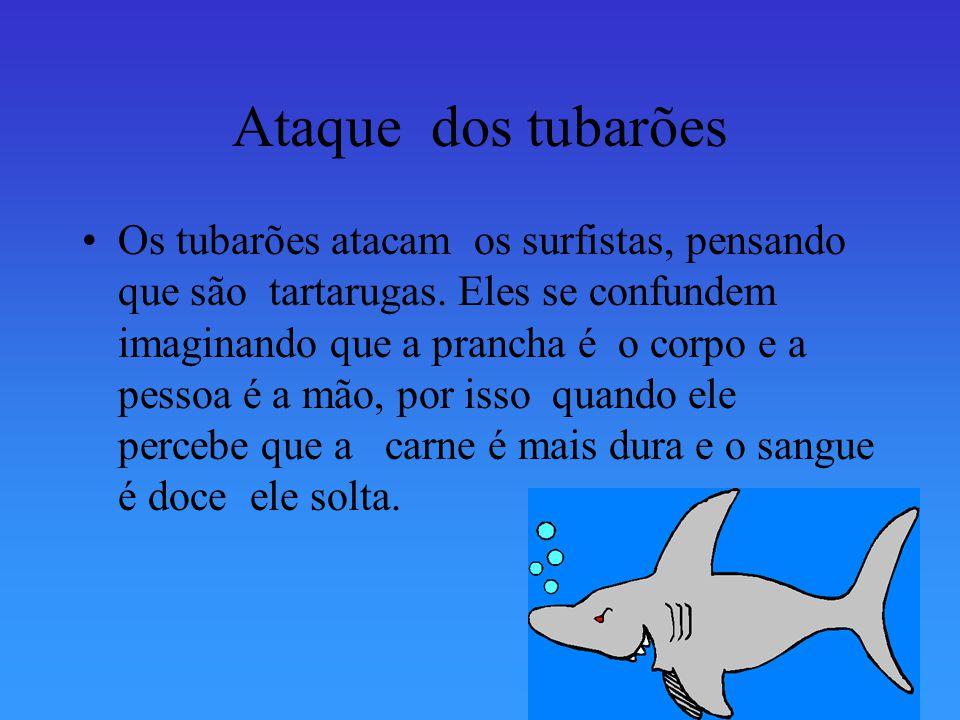 Os tubarões Existem cerca de 350 espécies de tubarões, mais nem todas estas são agressivas. O tubarão baleia, é o tubarão maior do mundo, ele não é ag