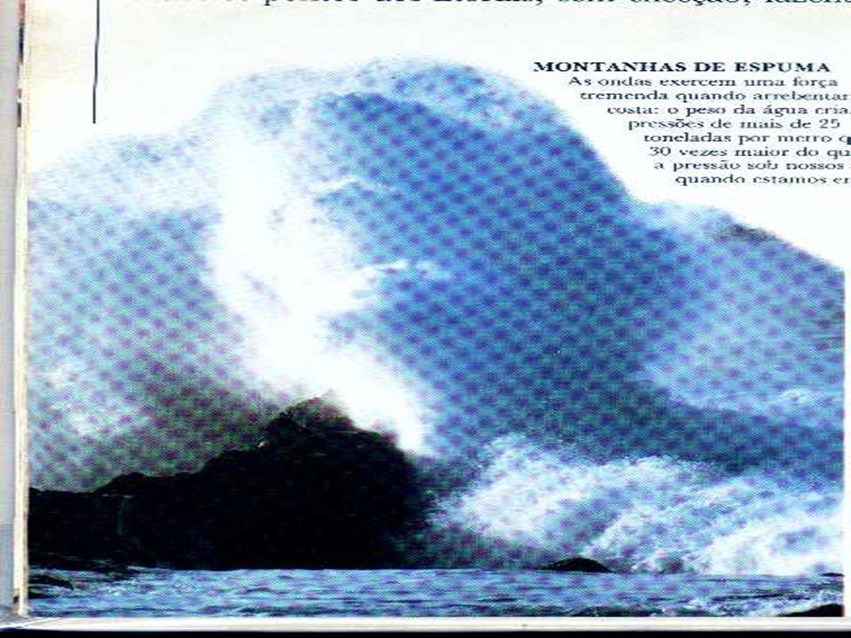A maré A maré faz um movimento periódicos de elevação ou abaixamento das águas do mar, causada pela fase da lua.
