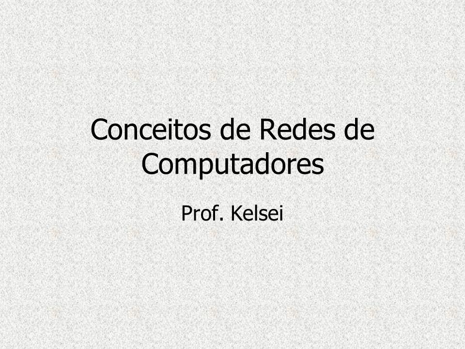 Conceitos de Redes de Computadores Prof. Kelsei
