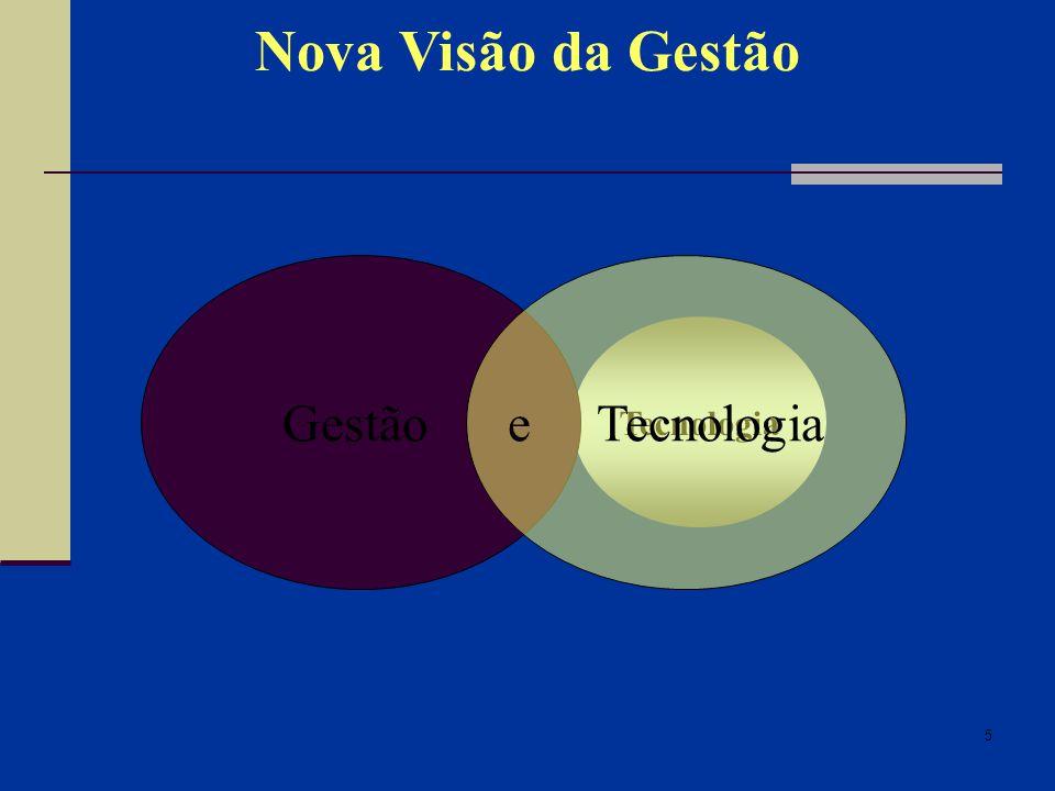 5 Nova Visão da Gestão GestãoTecnologia Gestão e Tecnologia