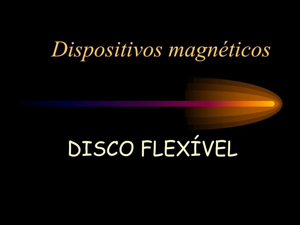 Dispositivos magnéticos DISCO FLEXÍVEL