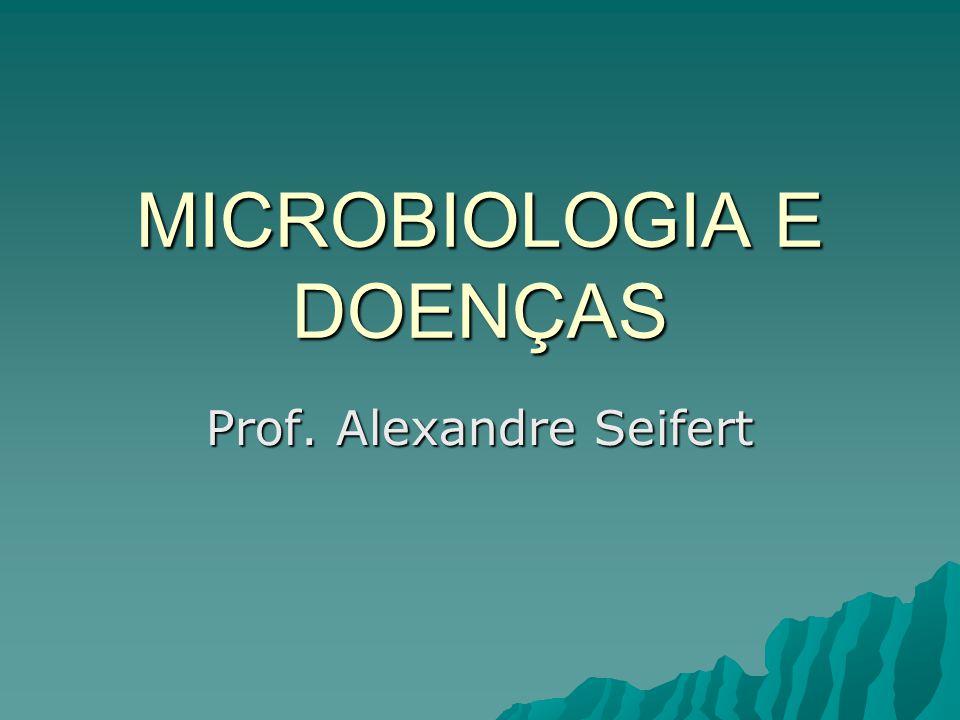 MICROBIOLOGIA E DOENÇAS Prof. Alexandre Seifert
