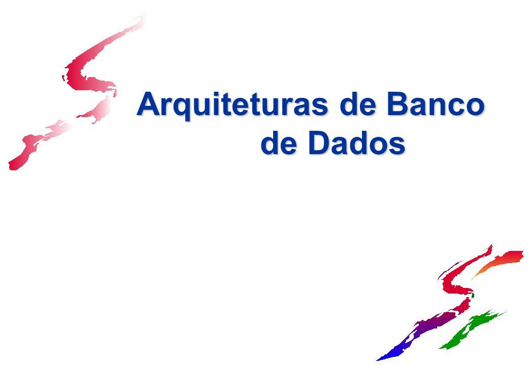 Arquiteturas de Banco de Dados