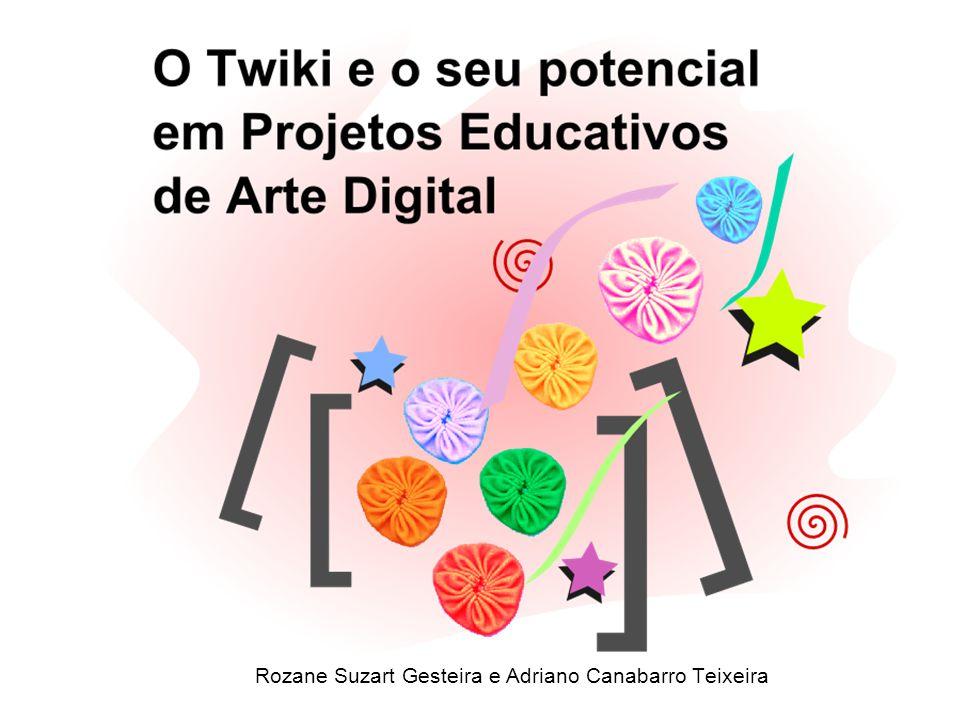 Rozane Suzart Gesteira e Adriano Canabarro Teixeira