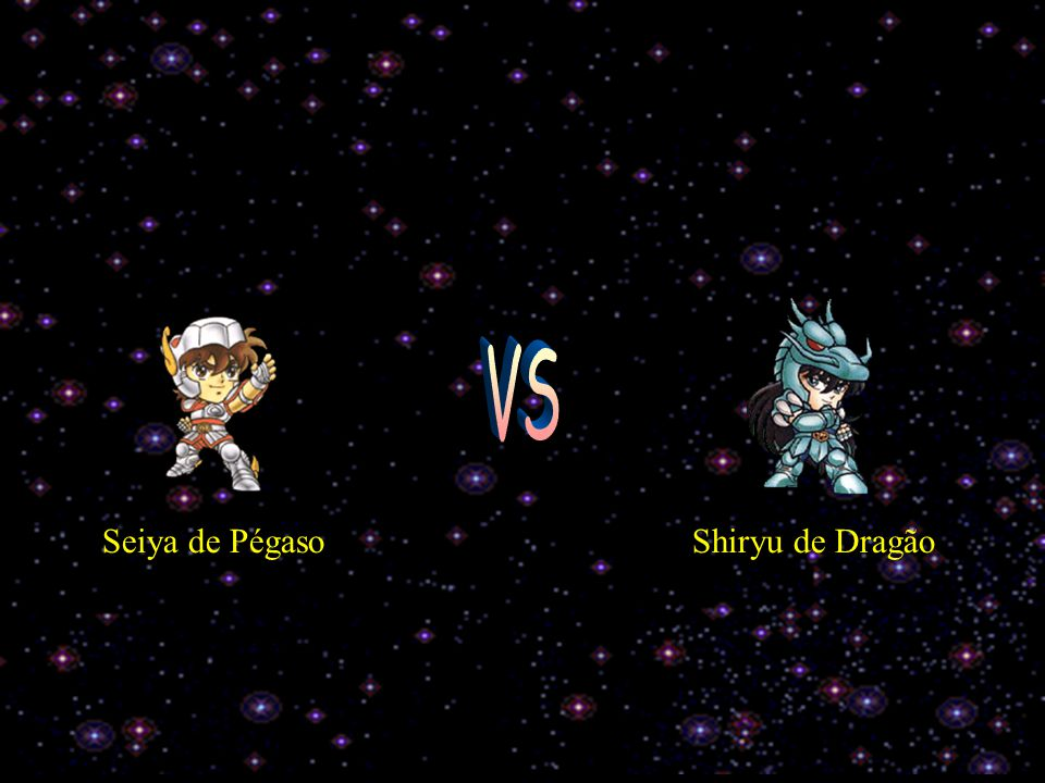 Hê hê patinho feio hoje será seu fim ! Acho que não ! Glump! Hã...e Hyoga usa seus poderes congelantes e...bem... ele vence !!!