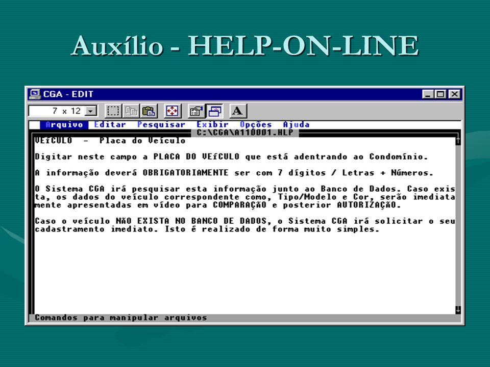 Auxílio - HELP-ON-LINE