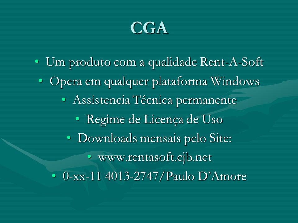 CGA Um produto com a qualidade Rent-A-SoftUm produto com a qualidade Rent-A-Soft Opera em qualquer plataforma WindowsOpera em qualquer plataforma Wind