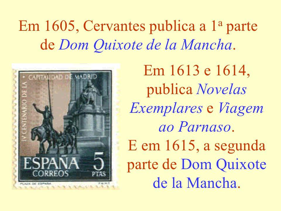 1580- De volta à Espanha, Cervantes encontra seu país na miséria.