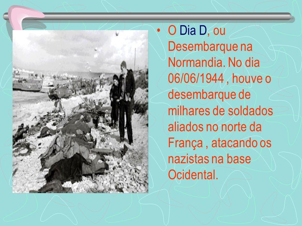 Em 1944, o Brasil enviou para o teatro de operações europeu uma força expedicionária organizada em curto espaço de tempo, sob o comando do General Mas